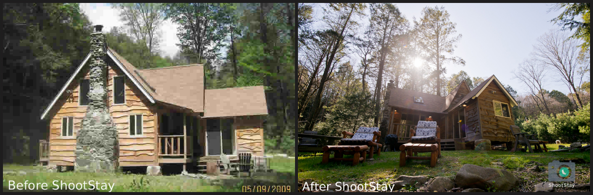 ShootStay Before and After
